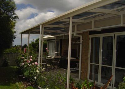 Metal Deck Awnings