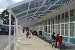 walkway covers awesome awnings