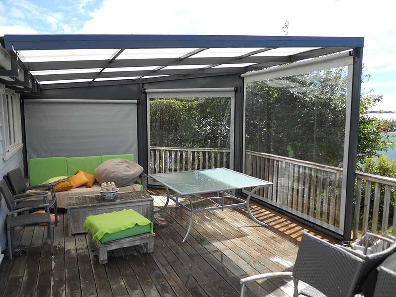 Entertainment Area And Sunroom Awesome Awnings
